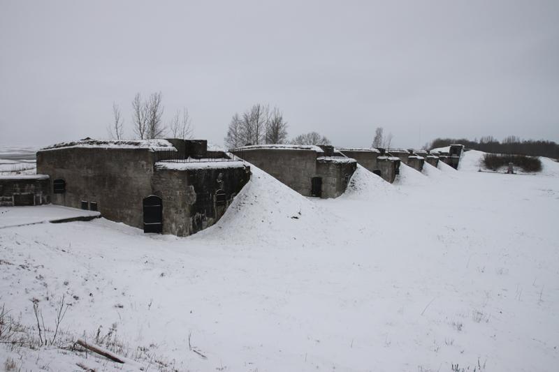 Крепость Кронштадтбатарея Демидова